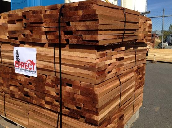 western red cedar - 2 4