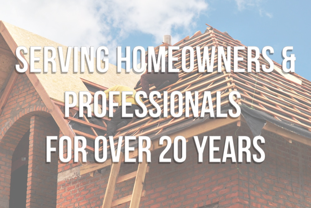 Serving Homeowners for 20 years