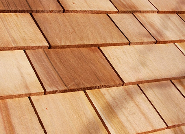 #1 18″ perfections blue label certigrade - 16 FIVE X Shingles Western Red Cedar
