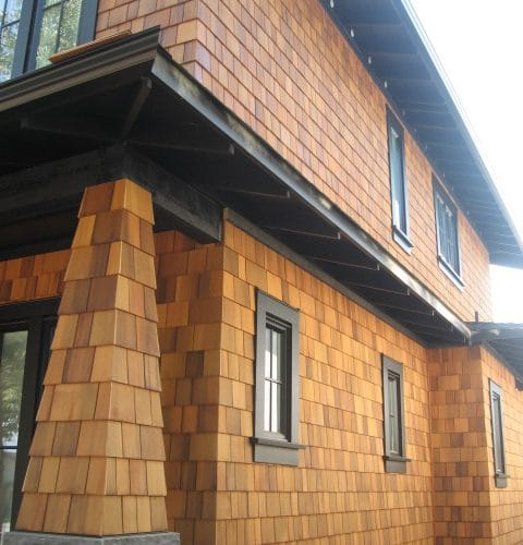 Red Cedar R&R Siding Shingle With Clear Semi-Trans Stain (2)