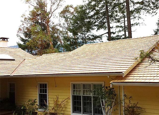 Alaskan Yellow Cedar Roofing Shingles