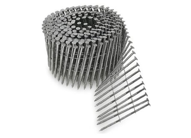 - stainless still - 1 3/4″ X .120 SS 304 COIL ROOFING NAILS – 15 DEGREE – DELIVERED PRICE