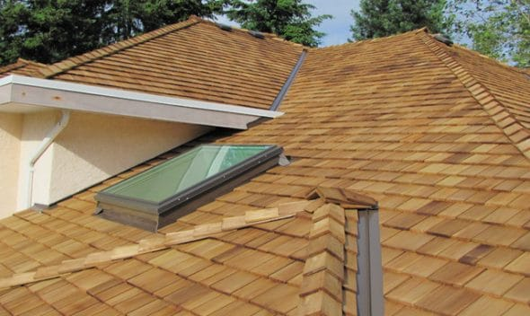 shakes shingles - tapersawn shake western 590x352