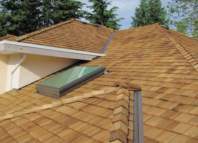shakes shingles - tapersawn shake western