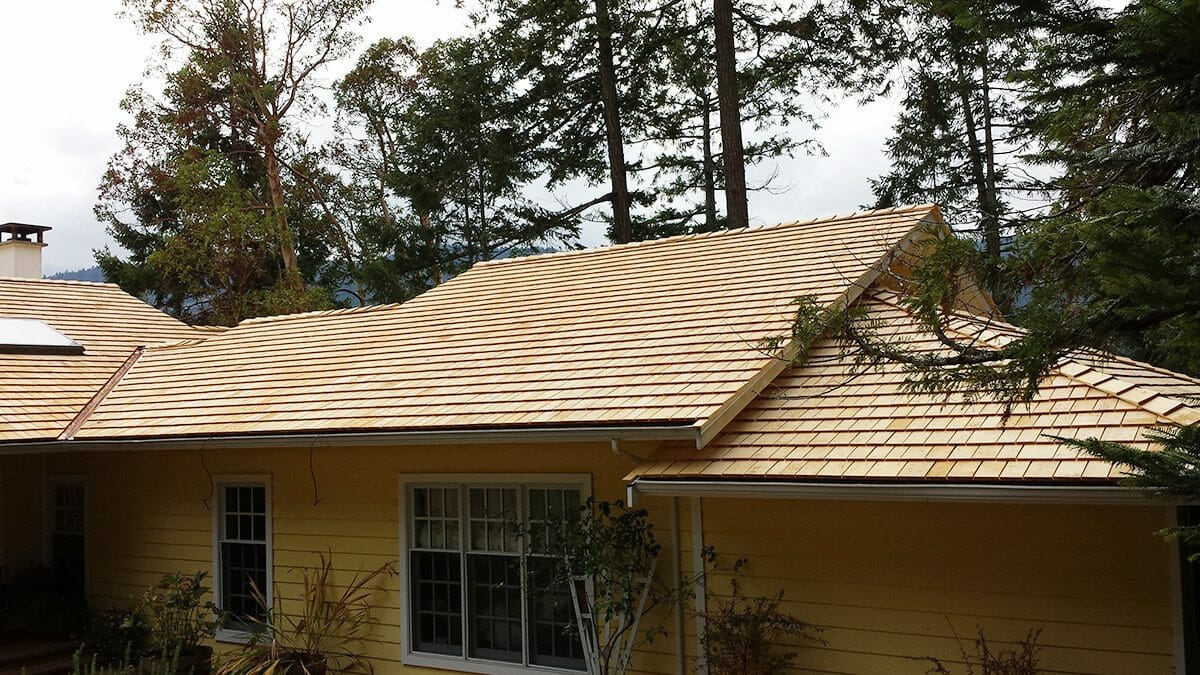custom shakes shingles - Yellow Tapersawn
