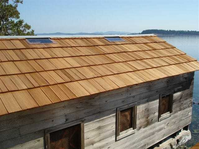 Custom Cut Cedar Shingles