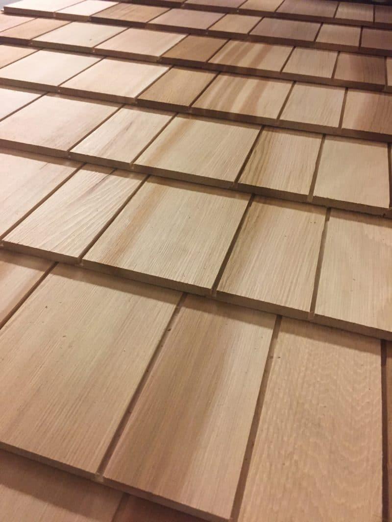Shingle Panels - Cedar shingle panels - Cedar shingles