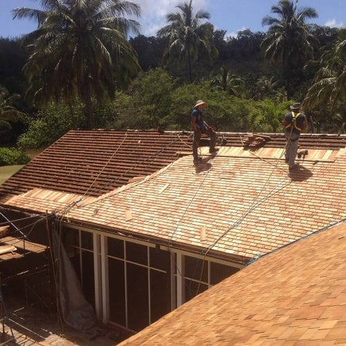 Western Red Cedar Shingles Hawaii
