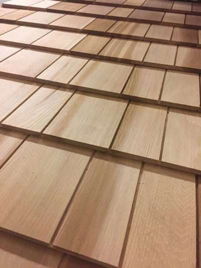 Cedar Shingle Panels