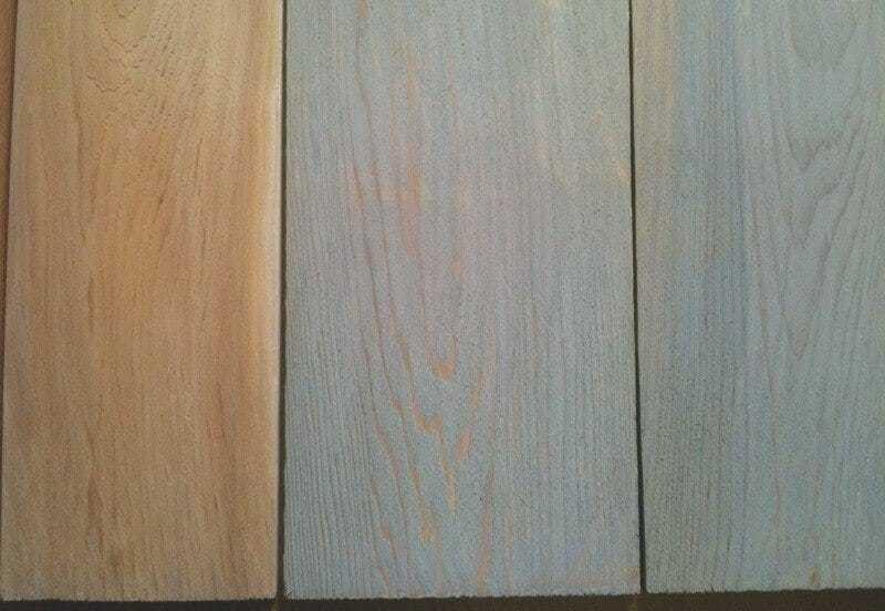 Eastern White Cedar Shingles Weathering Stain