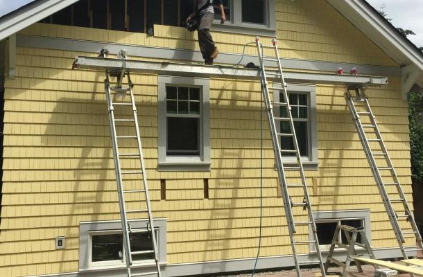 Yellow Cedar Shingle Panel