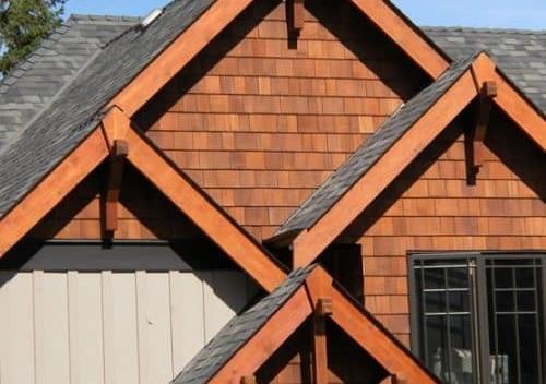 cedar shake sidings - Cedar Shake Siding 500x352