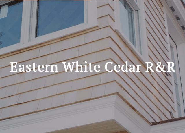 siding shingles - Eastern White Cedar RR