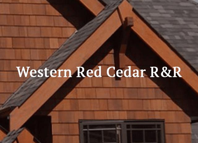 siding shingles - western red cedar Siding Shingles